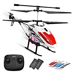 【Easy to Assemble & Control 】: Equipped 2 different helicopter shells to choose different shells as you like, easy to assemble. This 2.4GHz RC Helicopter is equipped with the latest Gyroscope technology and automatic pair. Turn on the RC helicopters ...