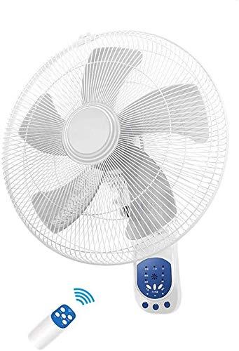 Suge Lüfter Pinnwand Fan - 16 Zoll Wand-Ventilator mit Fernbedienung 3 Datei Home Restaurant großen Luftvolumen Industrie Fan