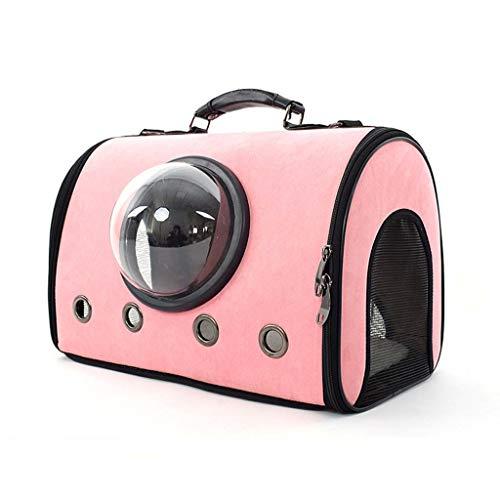 Wwjpet huisdier rugzak kat uit inklapbaar een schouder draagbare handige handtassen ruimte capsule ventilatie hond zakken voor reizen camping peuters