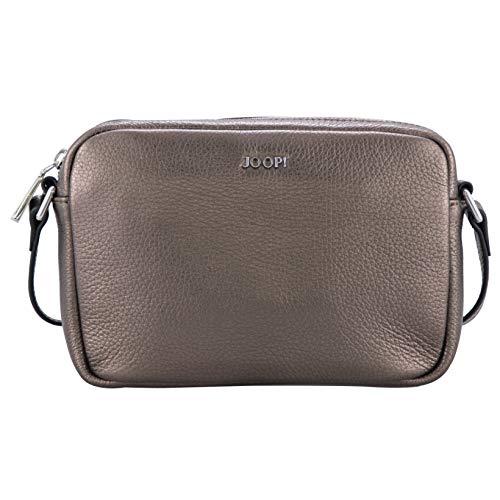 Joop! Damen Lucente Cloe Shoulderbag Shz Schultertasche, Braun (Bronce), 6x15x21.5 cm