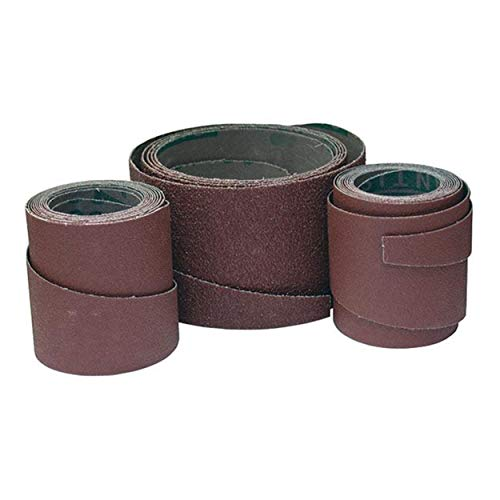 SuperMax 100 Grit Pre-Cut Abrasive Wraps for 19-38 Sanders, 3 Pack
