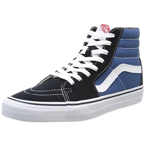 Vans Sk8-Hi, Sneakers Alti Unisex - Adulto, Blu (Navy), 38 EU
