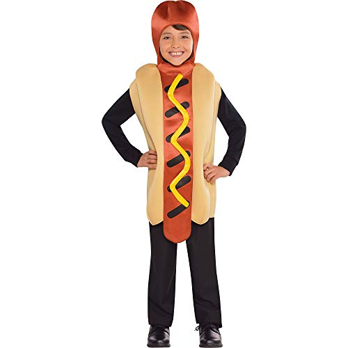 amscan 844272-55 Hotdog Kinderkostüm Gr.