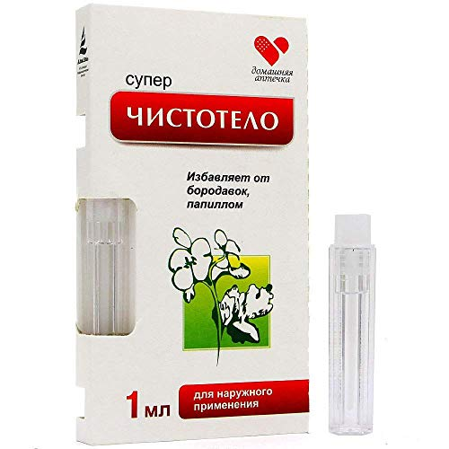 Get Rid of Warts Fast, Removal Pro, Natural Healing Chistotelo 1ml (1 ml)