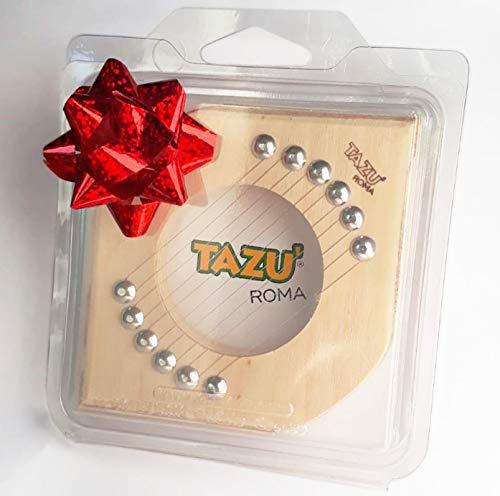 TAZU' Il Taglia ZUCCHINE in Confezione Regalo, Artigianale, Made in Italy Slicer, Utensile Tagliaverdure Manuale da Cucina Tagliazucchine, Mandolina Affettaverdure Taglio Fette.