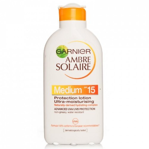 Ambre Solaire Ultra-hydrating Sun Cream SPF15 200ml