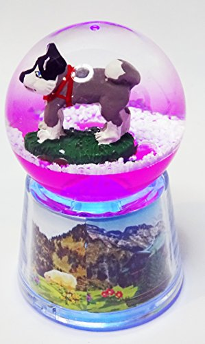 KDO-JOUETS.COM Boule Husky Lumineuse LED - Rose