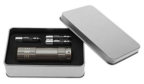 'Light 596840–Alu Lite Titanium Flashlight in Box, 9LED