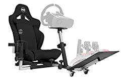 CONTROLLERS SOLD SEPARATELY. DESIGNED, ASSEMBLED AND PACKAGED WITH ATTENTION TO DETAIL IN USA. COMPATIBLE WITH ALL RACING WHEELS: THRUSTMASTER, LOGITECH, FANATEC ALL MOUNTING HARDWARE AND TOOLS INCLUDED. READY TO USE RIGHT OUT THE BOX COMPACT, EASY T...