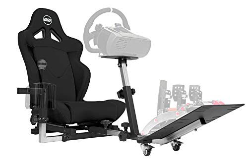 Openwheeler GEN2 Racing Wheel Stand Cockpit Black on Black | Fits All Logitech G29 | G920 | All...