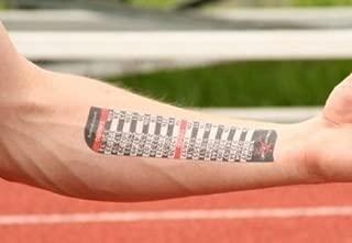 PACE TAT - Temporary Pacing Tattoo - Mile Splits - Full and Half Marathon Finish times