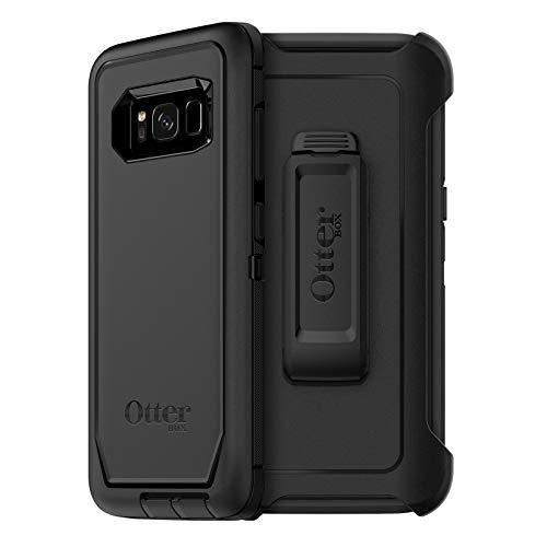 OtterBox DEFENDER SERIES Case for Galaxy S8 - Bulk Single-pack (1 unit) - BLACK