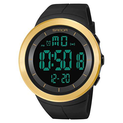 ZHICHUAN Deporte Digital Militares Reloj de Los Hombres Relojes de Ejecución de Mujeres Natación Cronómetro Ladies Impermeable Al Aire Libre Del Reloj de Alarma Reloj de Pulsera el