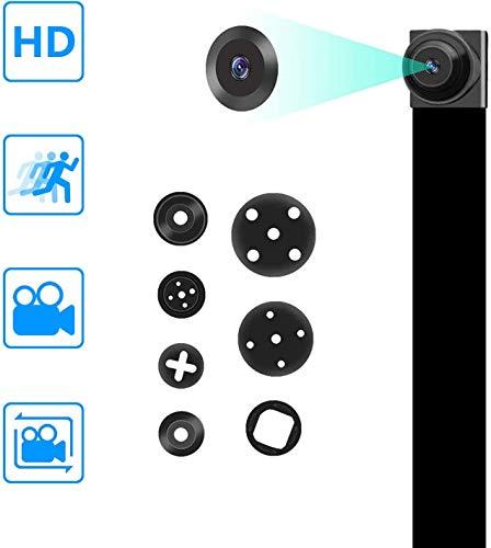 Amyway Mini Kamera Eingebaute HD 1080P DIY Mini Tragbare Sicherheits Überwachungkamera Kindermädchen-Kamera mit Bewegungserkennung Videoaufzeichnung MEHRWEG
