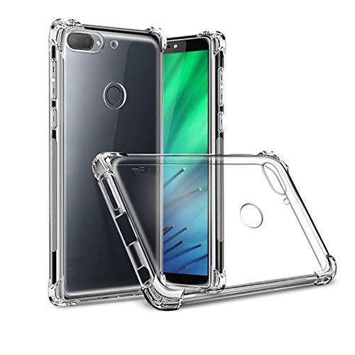 GARITANE Funda para Xiaomi Mi6 Plus,Transparente Slim TPU Silicona Clear Case Airbag Anti-Choque Carcasa Fundas para Xiaomi Mi6 Plus