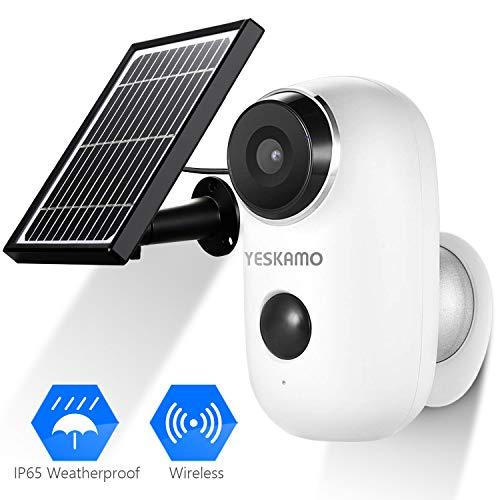 Battery Security Camera Wireless - Solar Powered IP Camera