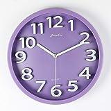 Reloj de Pared Art 3D de Cuarzo, Grande, Silencioso, 12 Pulgadas, con Diseño Moderno para Niños, Oficina, Sala de Estar, Cocina, Electrónico, Sin Garrapatas, 31 cm