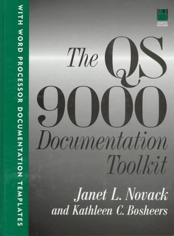 The Qs 9000 Documentation Toolkit (Iso Solutions Series)