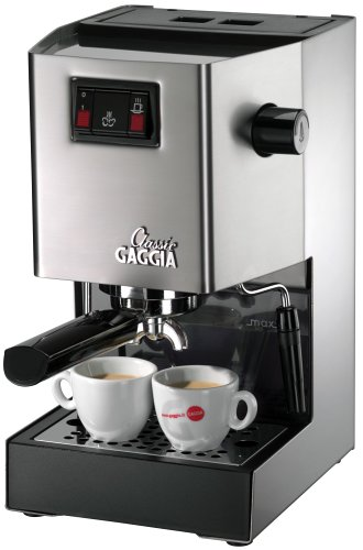 Gaggia 14101  Classic Semi-Automatic Espresso Maker. Pannarello Wand for Latte and Cappuccino...