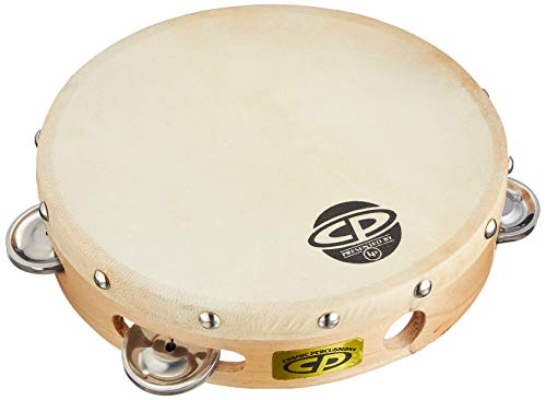 CP378 8' Wood Tambourine, Headed, Single...