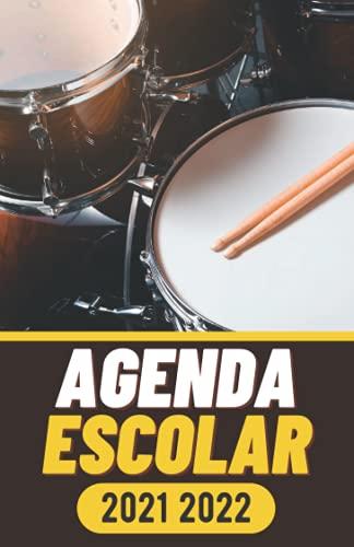 Agenda Escolar 2021 2022: Tambor Para estudiantes | 1 días por página | Primaria Colegio Secundaria