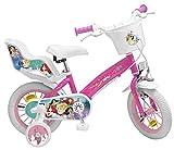Toimsa - Bicicletta da Bambina, 12' (dai 3 ai 6 Anni), Motivo: Principesse Disney