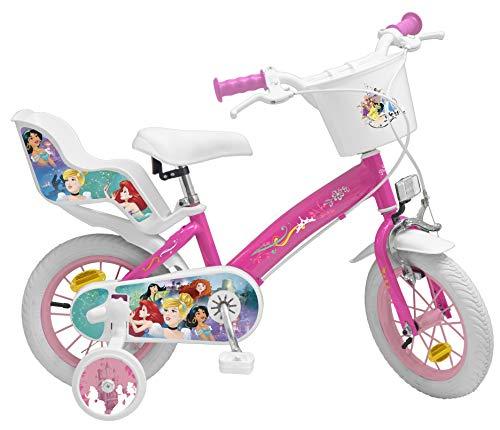 Toimsa Princess Vélo pour Enfant sous Licence Princesses Disney 12 Pouce de 3 à 5 Ans, 641