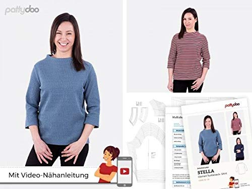 pattydoo Schnittmuster Turtleneck-Shirt 'Stella'
