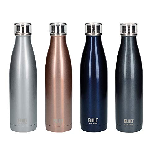C000882 Built V/&A 500ml Double Walled Stainless Steel Water Bottle Hummingbird