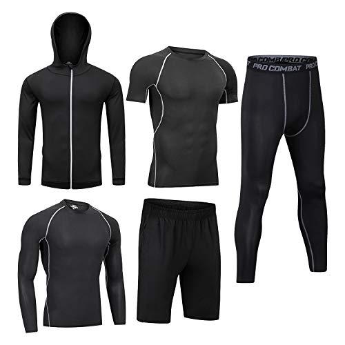 Ropa de entrenamiento para hombre, ropa de fitness, gimnasio, al aire libre,...