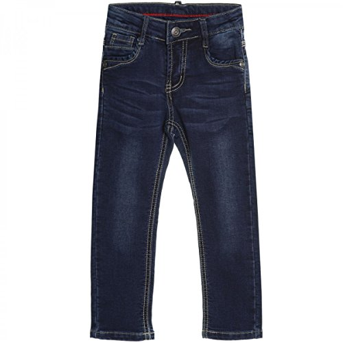 BEZLIT Baby Kinder Jeans Hose Röhre Straight Fit Skinny Sommer Stretch Bootcut 20551 Blau Größe 36 M