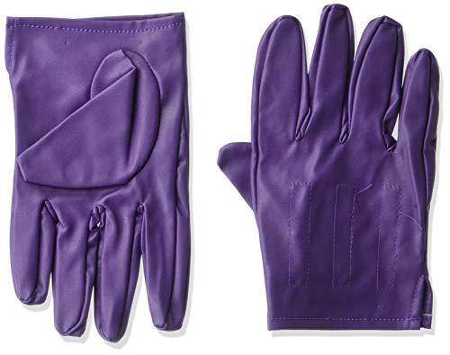 Rubie's Offizielle Joker-Handschuhe, Erwachsenen-Kostümzubehör, Einheitsgröße