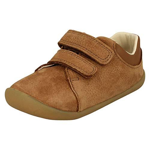 Clarks Jungen Roamer Craft T_Sneaker Niedrig, Braun (Tan Leather), 22 EU