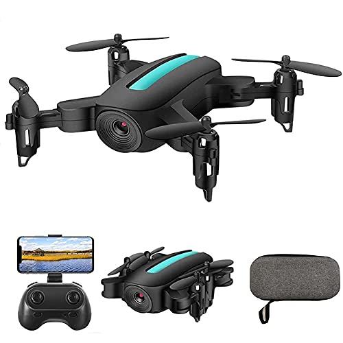 rzoizwko Drone, Drone Plegable con cámara para Adultos 4K HD FPV Live Video, Tap Fly, Control de Gestos, Altitude Hold, Modo sin Cabeza, 3D Flips, RC Quadcopter para niños, Adultos y Principiantes