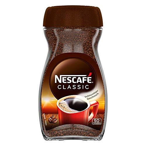 NESCAFÉ Classic, löslicher Bohnenkaffee, 1er Pack (1 x 100g)