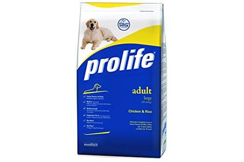 ProLife – Adult Large poulet et riz 15 Kilogramm