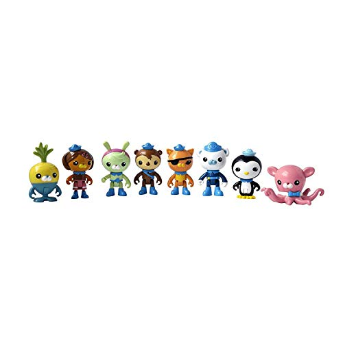 Mattel Octonauts 8-Figure Octo-Pack (Pack of 8)