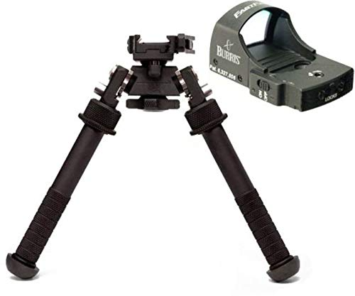 Atlas Bipods Lever with ADM 170-S Lever and Burris FastFire II...