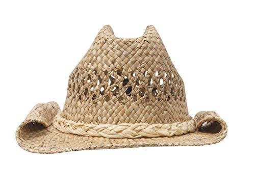MG Sombrero de cowboy de paja