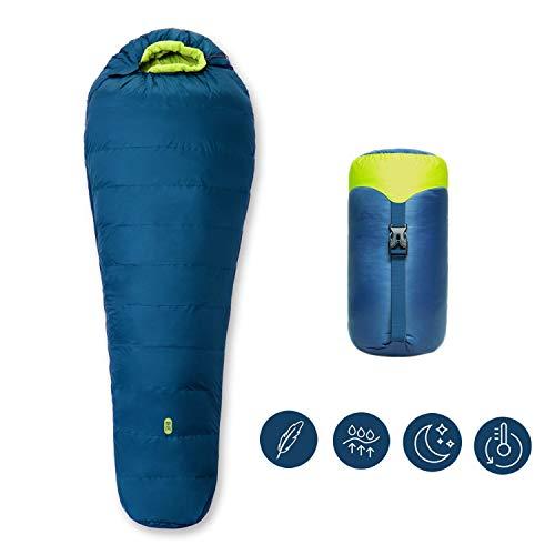 Zenph Mumien Camping Schlafsäcke, Komforttemperatur (3-Saison) Mumienschlafsack extrem klein & leich