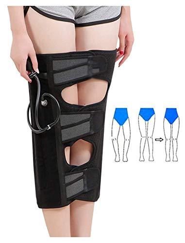 Pierna Bebado de corrección Cinturones de corrección Presión de aire Estilo inflable Lámina ajustable Corrección de la pierna para las piernas de tipo XO, rodillas de golpe Deformidad de valgus Deform