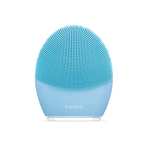 FOREO LUNA 3 Spa Fai da Te, la Spazzola Smart per Detergere e Massaggiare il Viso, Combination Skin