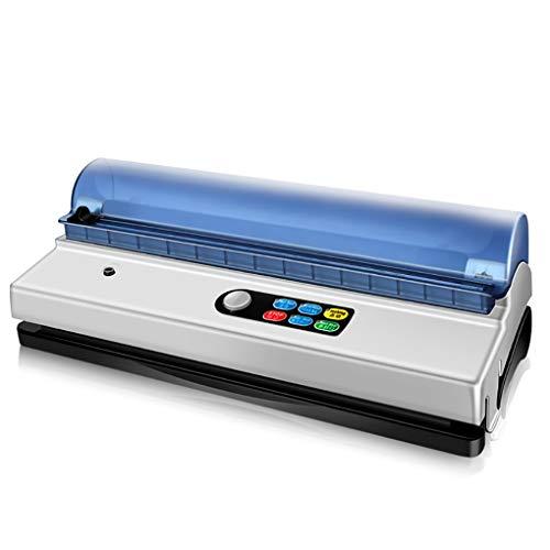 YHLZ Haushalts-Vakuummaschine Verpackungsmaschine for Gewerbe Lebensmittel Compression Frische Trocken- und Nassfutter Vakuumierer Einbau-Schneidemesser und Aufbewahrungstasche Zimmers