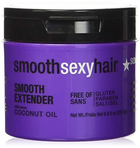 Sexy Hair Smooth Extender Nourishing Smoothing Masque, 6.8 Ounce by Sexy Hair