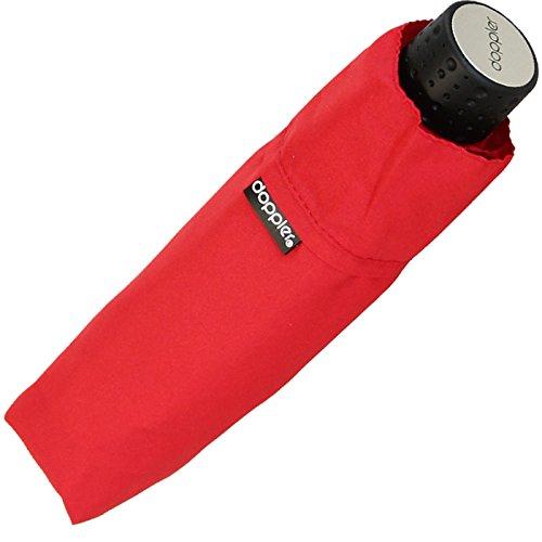 Regenschirm Doppler Super Mini Schirm Havanna Stick - stabil kaminrot
