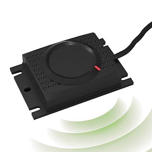 ISOTRONIC Repellente per martore | Dissuasore per martora a batteria da 12 V | Senza veleno e sostanze chimiche | Protezione macchina contro martore e topi a ultrasuoni (1)