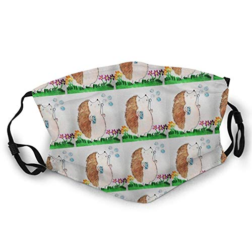 Staubmasken Vollgesichtsmaske Igel Herstellung von Seifenblasen Socken Staubdichte Sonnenschutz-Turbanmaske Kopfschmuck Mundmasken