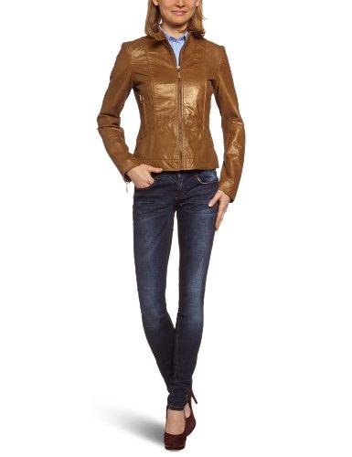ESPRIT Collection Damen Jacke P23370, Gr. 42 (XL), Braun (214 Light Teak Brown)