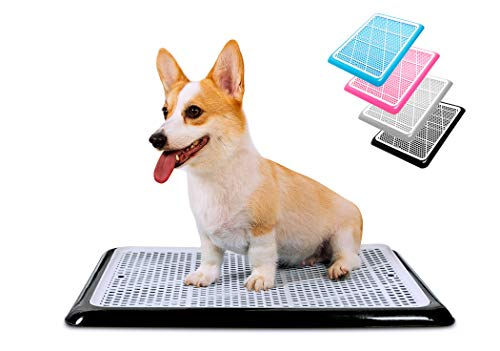 """Pet Awesome Dog Potty Tray / Puppy Pee Pad Holder 25""""x20"""" Indoor Wee Training for Small and Medium Dogs"""