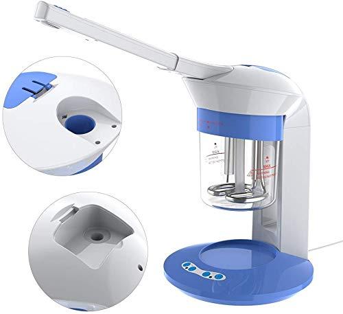 Gesichtssauna Gesichtsdampfer, Professionelle Nano Ionic Gesicht Dampfgerät Luftbefeuchter Dampfer für Face Befeuchter Hautpflege Gesichtspflege Porenreinigung Gerät